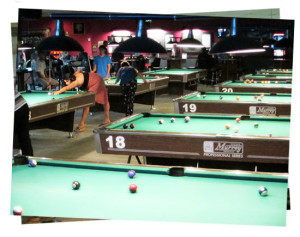 Billiards, pool, and darts at Jester's