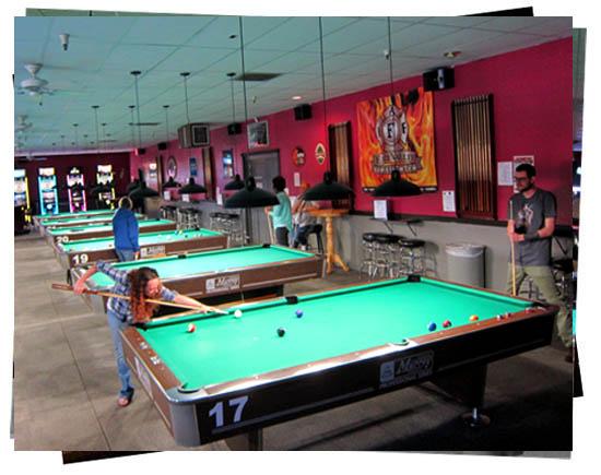 Billiards Tournaments at Jester's Billiards