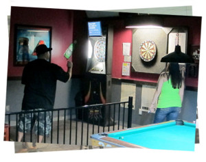 Play darts in our Air-conditioned Smoking Room (+21 only)