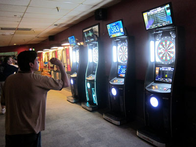 darts tournaments at Jester's Billiards
