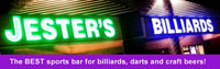 Jester's Billiards, the BEST sports bar for billiards, darts and craft beers!