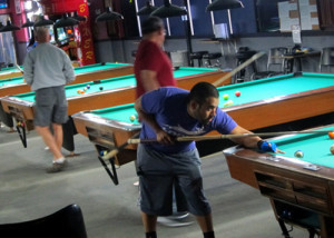 Billiards at Jester's Billiards