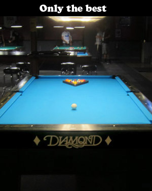The Diamond Pool Table Jesters Billiards - 7 foot diamond pool table