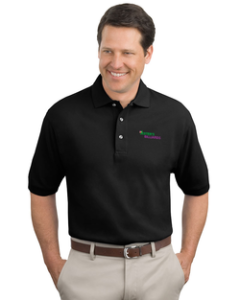 Jester's Billiards - Queensboro Organic Pique Polo with Anionic Energy Plus