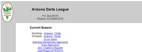 Arizona Darts League Jester's Billiards billiards darts craft beers