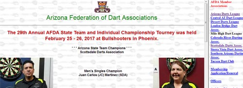 Arizona Federation of Darts Associations Jester's Billiards billiards darts craft beers