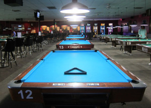 Diamond Pool Tables at Jester's Billiards