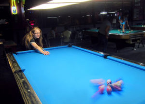 Diamond Pool Tables at Jester's Billiards billiards darts craft beers