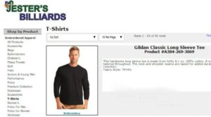 Great clothing and apparel at Jester's Billiards online store.