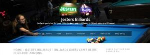 Jester's Billiards in Gilbert Arizona