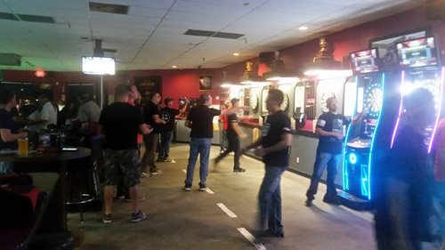 darts leagues at Jester's Billiards in Gilbert, Arizona