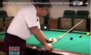 Cue Ball Control