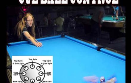 Cue Ball Control Video from Jester's Billiards