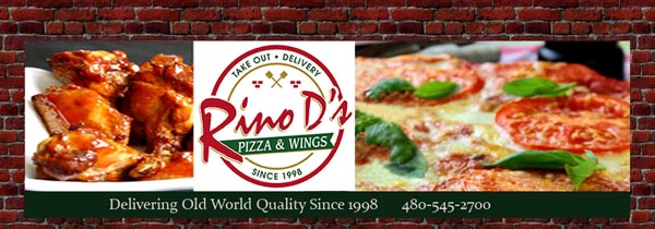 Great Food and drink at Rino D's Pizza and Wings and Jester's Billiards