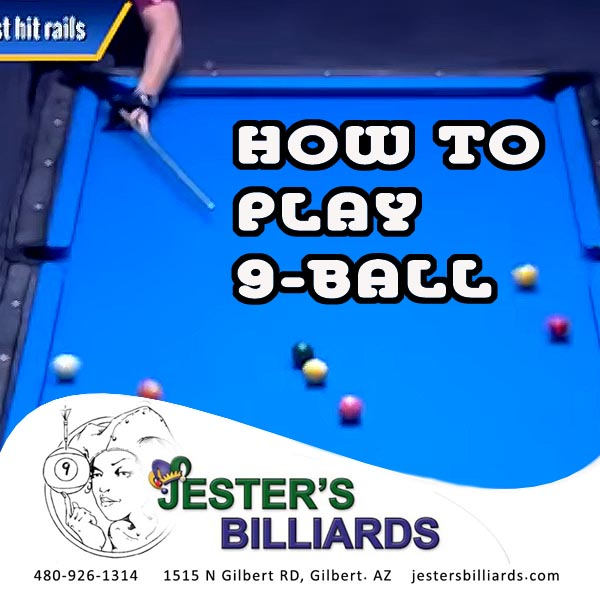 Play 9-ball like a pro