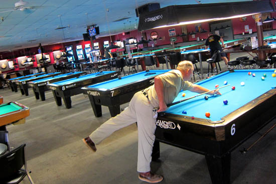 Billiards at Jester's Billiards in Gilbert, Arizona