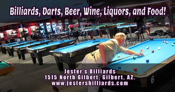Jester's BIlliards Gilbert Rd Gilbert AZ
