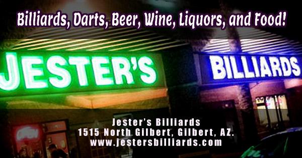 Jester's Billiards in Gilbert Az.