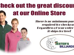 The Online Store for Jester's Billiards